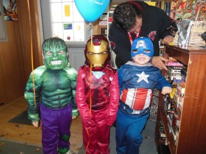 Our very own avengers to save the day!